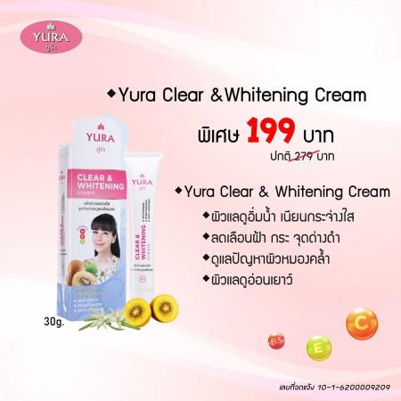 Yura Clear & Whitening Cream