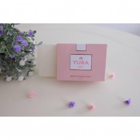 Yura Beauty Facial Snow Lotus Soap (ยูร่า บิวตี้ เฟเชียล สโนว โลตัส โซพ)
