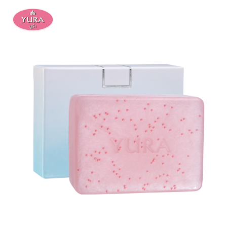 Yura Beauty Facial White Strawberry Soap